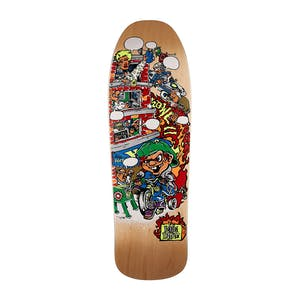 "New Deal Howell Tricycle Kid 9.62"" Skateboard Deck - Natural"