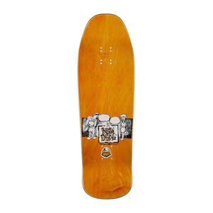 "New Deal Howell Tricycle Kid 9.62"" Skateboard Deck - Orange"