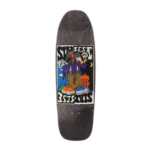 "New Deal Siamese Doublekick 9.825"" Skateboard Deck - Reissue"
