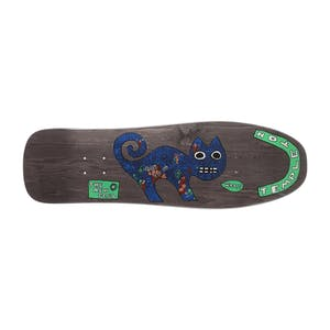 "New Deal Templeton Cat 9.75"" Skateboard Deck - Black"