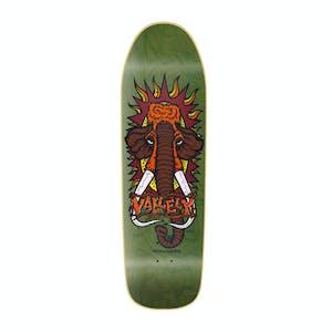 "New Deal Vallely Mammoth 9.5"" Skateboard Deck - Green"