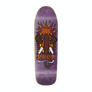 "New Deal Vallely Mammoth 9.5"" Skateboard Deck - Purple"