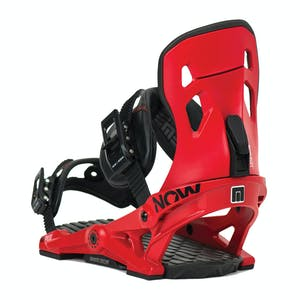 Now Pilot Snowboard Bindings - Red