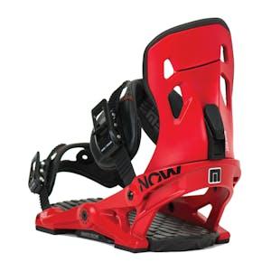 Now Pilot Snowboard Bindings - Red
