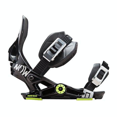 Now NXGEN Youth Snowboard Bindings - Black