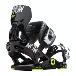 Now NXGEN Youth Snowboard Bindings - Black