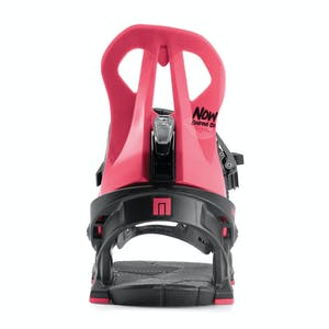 Now Brigada Women's Snowboard Bindings 2020 - Black/Pink
