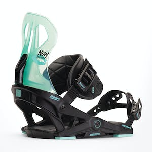 Now Brigada Women's Snowboard Bindings 2020 - Black/Turquoise
