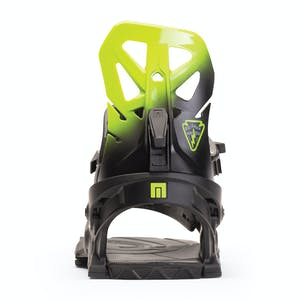 Now Brigade Snowboard Bindings 2020 - Black/Green