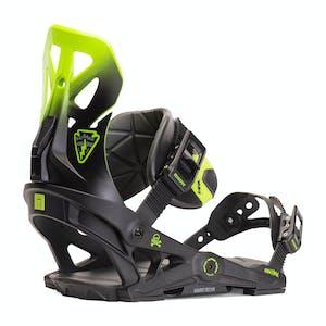 Now Brigade Snowboard Bindings 2020 - Black/Green