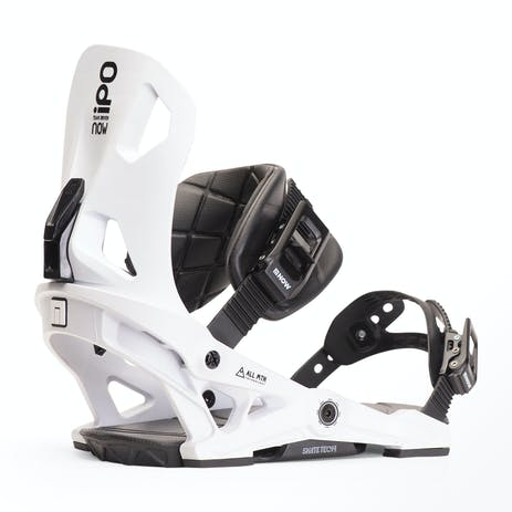 Now IPO Snowboard Bindings 2020 - White