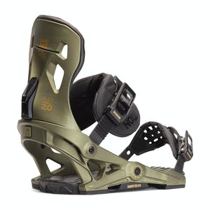 Now Pilot Snowboard Bindings 2020 - Green