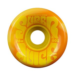 OJ Dicola Super Juice 60mm Skateboard Wheels - Orange/Yellow Swirl