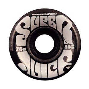 OJ Mini Super Juice 55mm Skateboard Wheels - Transparent Black
