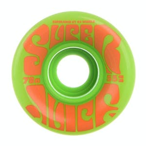 OJ Mini Super Juice 55mm Skateboard Wheels - Green