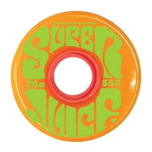 OJ Mini Super Juice 55mm Skateboard Wheels - Orange