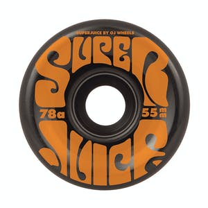 OJ Mini Super Juice 55mm Skateboard Wheels - Black
