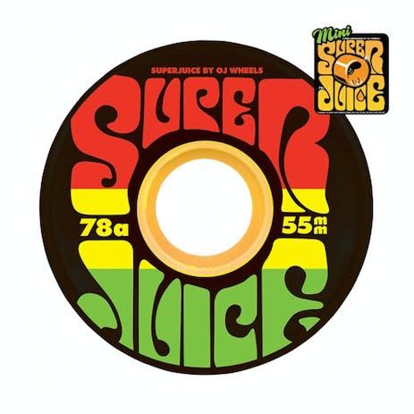 OJ Mini Super Juice 55mm Skateboard Wheels - Jamaica
