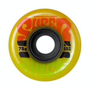 OJ Mini Super Juice 55mm Skateboard Wheels - Jamaican Sunrise