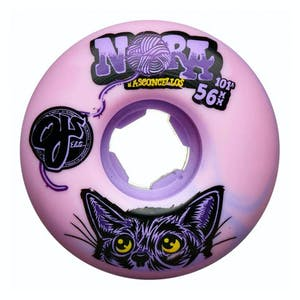 OJ Nora Elite 56mm Skateboard Wheels - Purple Swirl