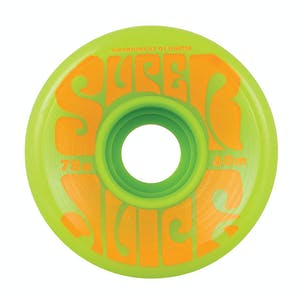 OJ Super Juice 60mm Skateboard Wheels - Green