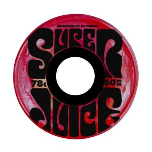 OJ Super Juice 60mm Skateboard Wheels - Translucent Red