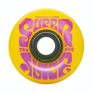 OJ Super Juice 60mm Skateboard Wheels - Yellow