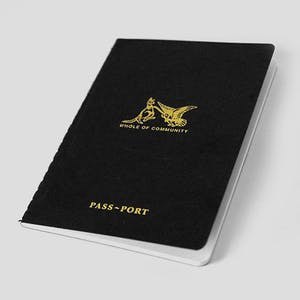 PASS~PORT Pocket Friends Notebook