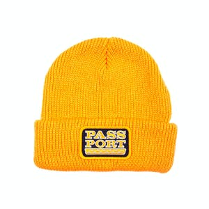 Pass~Port Auto Patch Beanie - Gold