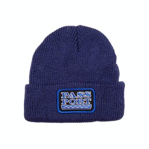 Pass~Port Auto Patch Beanie - Navy