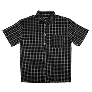 Pass~Port Cross Check Shirt - Black