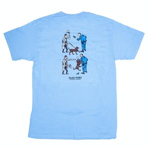 Pass~Port Friendly K9 T-Shirt - Carolina Blue