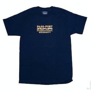 Pass~Port Inter Solid II T-Shirt - Navy