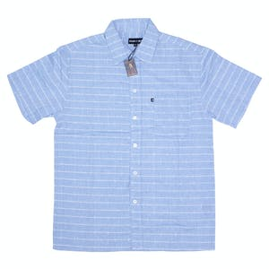 Pass~Port Line Wire Workers Shirt - Blue