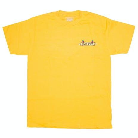 Pass~Port Trickle Down T-Shirt - Gold