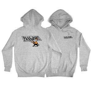 Pass~Port Mirror Man Hoodie - Grey Heather