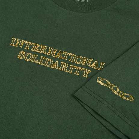 Pass~Port Inter Solid T-Shirt - Forest Green
