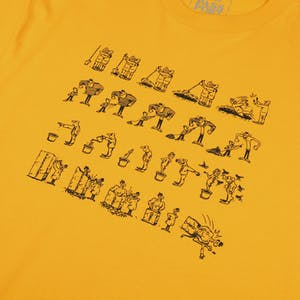 Pass~Port WCWBF T-Shirt - Gold