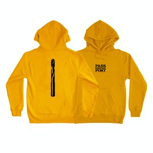 Pass~Port Drillbit Hoodie - Gold