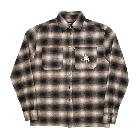 Pass~Port Bobby Flannel Shirt - Black