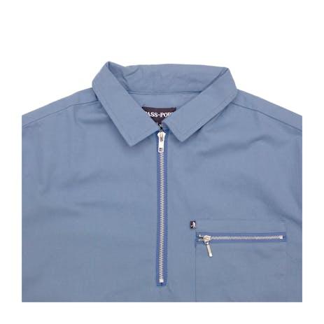 Pass~Port Quarter Zip Shirt - Navy