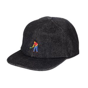 PASS~PORT Full Time 5-Panel Hat - Grey