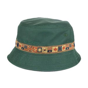 PASS~PORT Inter Solid Bucket Hat - Forest Green