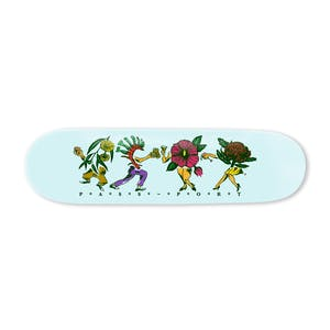 "PASS~PORT Floral Friends 8.6"" Skateboard Deck - Sky"