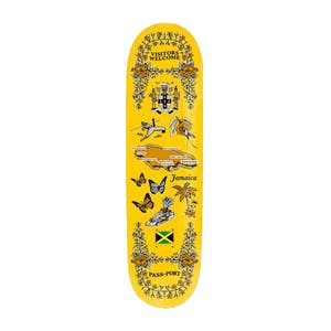 "PASS~PORT Tea Towel 8.25"" Skateboard Deck - Jamaica"