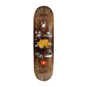 "PASS~PORT Tea Towel 8.25"" Skateboard Deck - Switzerland"