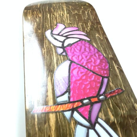 PASS~PORT Stainglass Galah Skateboard Deck - Palmer
