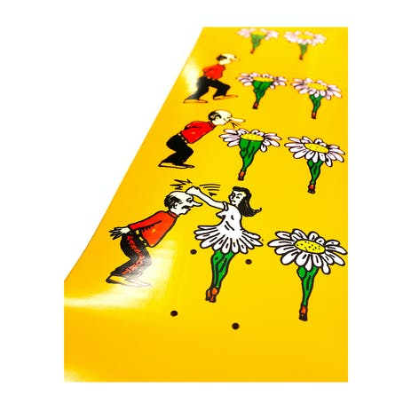 PASS~PORT What U Thought Skateboard Deck - Flowers