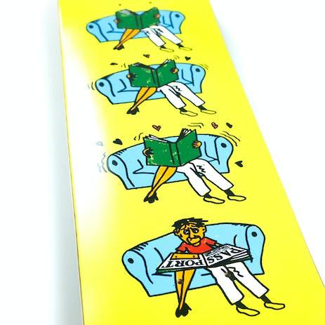 PASS~PORT What U Thought Skateboard Deck - Legs