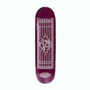 """PASS~PORT Gated 8.5"""" Skateboard Deck - Flower"""